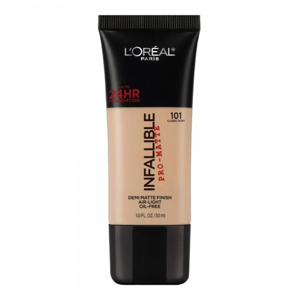 L'Oreal Make Up Foundation Matte Infallible Pro Matte Classic Ivory