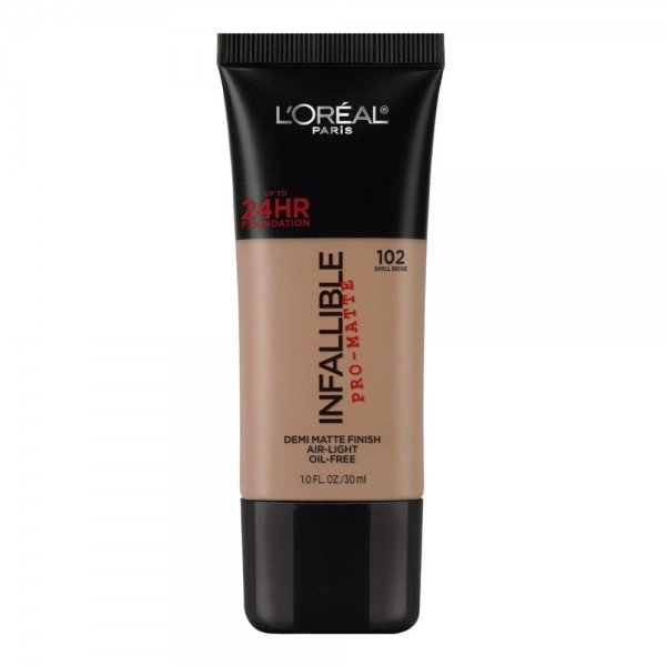 L'Oreal Make Up Foundation Matte Infallible Pro Matte Shell Beige
