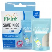 Malish Save 'N Go Breast Milk Bags Sleep
