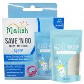 Malish Save 'N Go Breast Milk Bags Sleep
