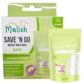 Malish Save 'N Go Breast Milk Bags Bath