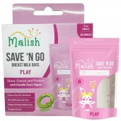 Malish Save 'N Go Breast Milk Bags Play