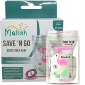 Malish Save 'N Go Breast Milk Bags Beautiful