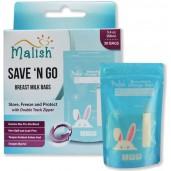 Malish Breast Milk Storage Save n Go