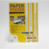 Master Paper Sticker A3