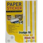 Master Paper Sticker A4