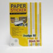 Master Paper Sticker B4