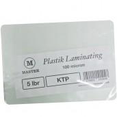 Master Plastik Laminating KTP 250micron /5