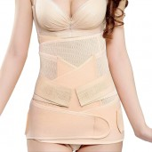 Mooimom C7777F 3 In 1 Postnatal Recovery Breathable Corset