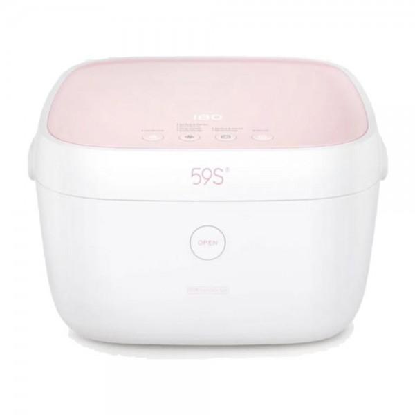 59s UVC LED Milk Bottle Sterilizing Box Built in Battery Pink