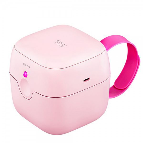 59s UVC LED Mini Sterilizing Box Pink