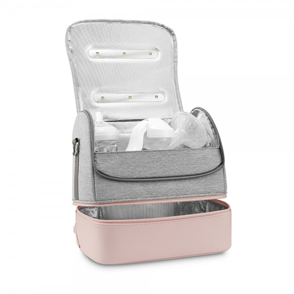 59s UVC LED Sterilizing Mommy Bag Pink