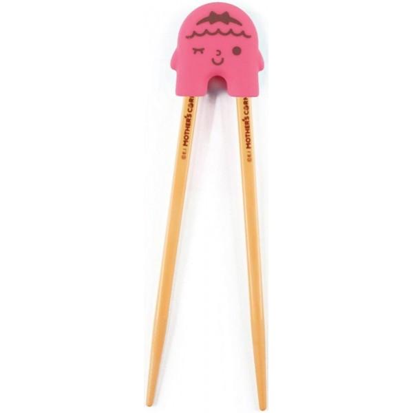 Mother's Corn Rice 2 See U Chopsticks Pink