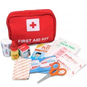 OneMed First Aid Kit Bag Red Set
