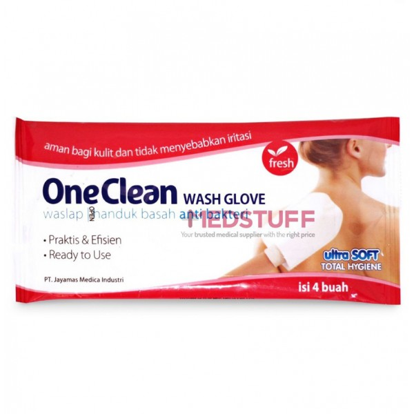OneMed OneClean Wash Glove /4
