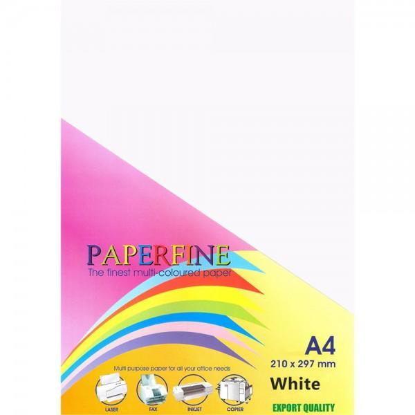 Paperfine Kertas HVS Warna A4 White /500