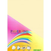 Paperfine Kertas HVS Warna A4 Cream /25