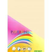 Paperfine Kertas HVS Warna A4 Canary /25