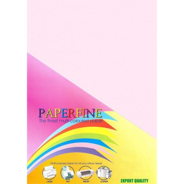 Paperfine Kertas HVS Warna A4 Rose /500