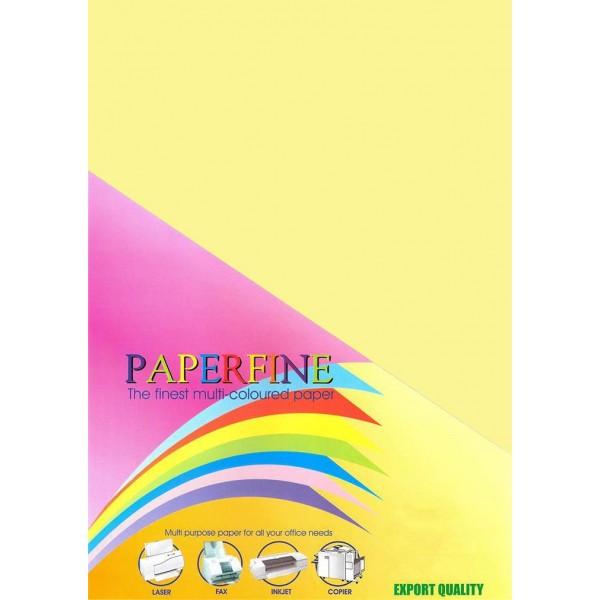 Paperfine Kertas HVS Warna A4 Yellow /500
