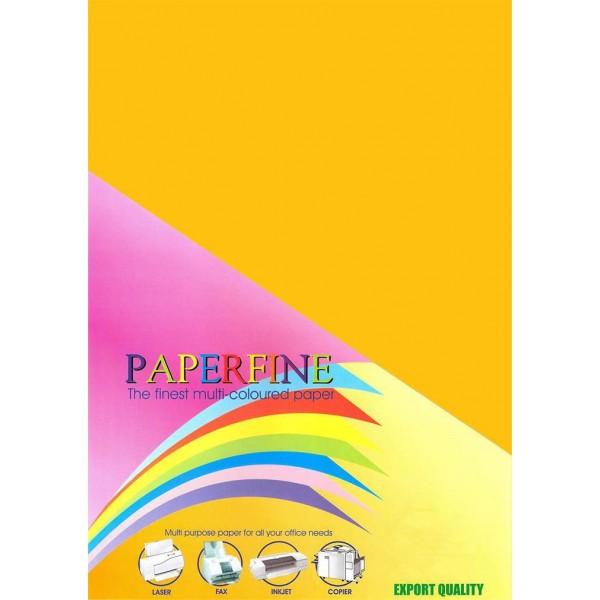 Paperfine Kertas HVS Warna A4 Gold /500
