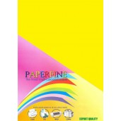 Paperfine Kertas HVS Warna A4 Lemon /25