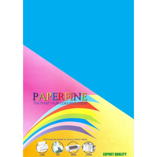 Paperfine Kertas HVS Warna A3 Turquoise /25