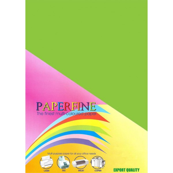 Paperfine Kertas HVS Warna A4 Parrot /25