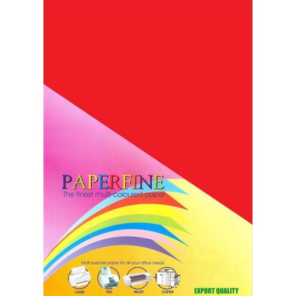 Paperfine Kertas HVS Warna A3 Red /25