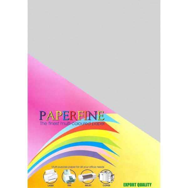 Paperfine Kertas HVS Warna Plano Platinum /500