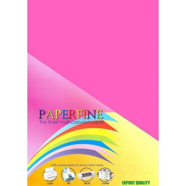 Paperfine Kertas HVS Warna A4 Cyber Red /25