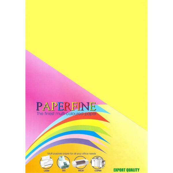 Paperfine Kertas HVS Warna A3 Cyber Yellow /25