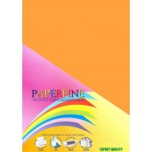 Paperfine Kertas HVS Warna A4 Cyber Orange /25