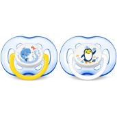 Philips Avent SCF186/24 Freeflow Soothers Blue 2 Pack