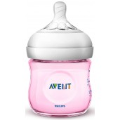 Philips Avent SCF691/13 Natural Feeding Bottle 125ml Pink