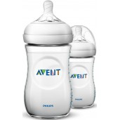 Philips Avent SCF693/23 Natural Feeding Bottle 260ml Twin