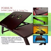 Pordesk Meja Laptop/Tablet