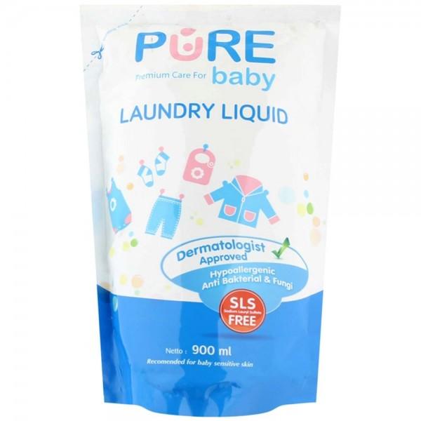 Pure BB Baby Laundry Liquid Refill 900ml