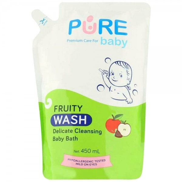 Pure Baby Wash 2in1 Fruity Refill 450ml