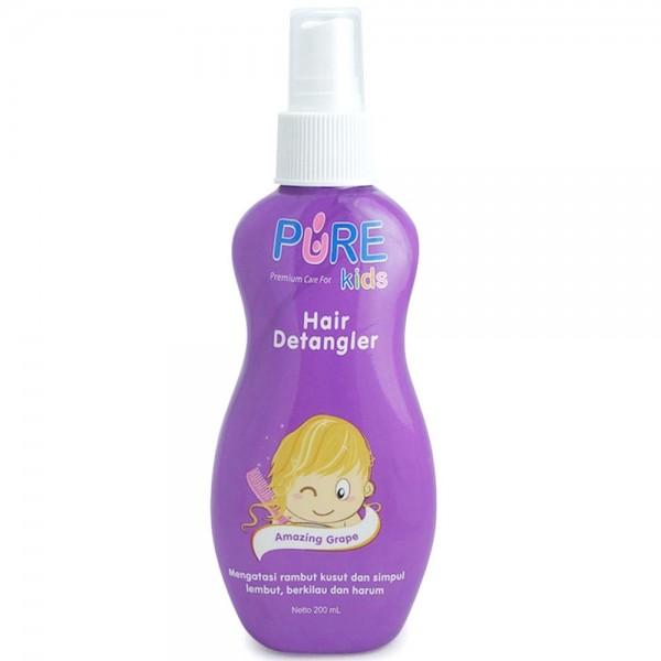 Pure Kids Hair Detangler Purple