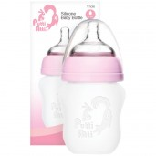 Putti Atti Silicone Baby Bottle Pink 160ml
