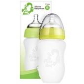 Putti Atti Silicone Baby Bottle Green 260ml