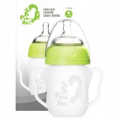 Putti Atti Silicone Baby Handle Bottle Green 160ml