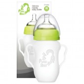 Putti Atti Silicone Baby Handle Bottle Green 260ml