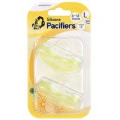 Putti Atti Pacifier Large Yellow