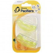 Putti Atti Pacifier Small Yellow