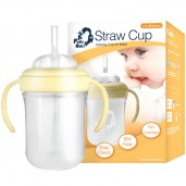 Putti Atti Straw Cup 200ml Yellow