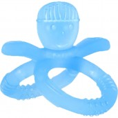 Putti Atti Silicone Teether Snowman Blue