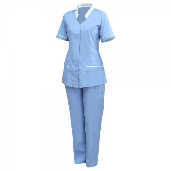 Scoora Freya Nanny Uniform Calm Blue