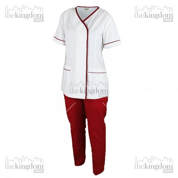 Scoora Gail Nanny Uniform Maroon